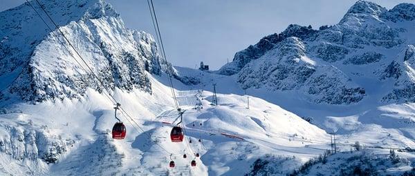 Passo Tonale glaciar